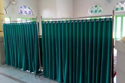 Hijab Masjid pesanan DKM Masjid Al Muhajirin Bekasi Regency di Cibitung Bekasi