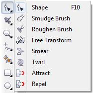 Pengertian dan Fungsi-Fungsi ToolBox pada CorelDRAW Lengkap