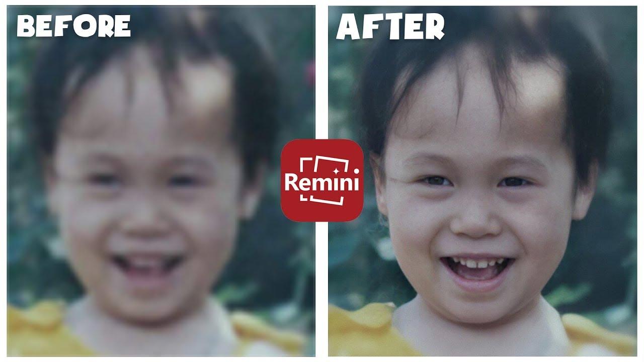 Tải xuống Remini APK MOD mở khóa tính năng Premium