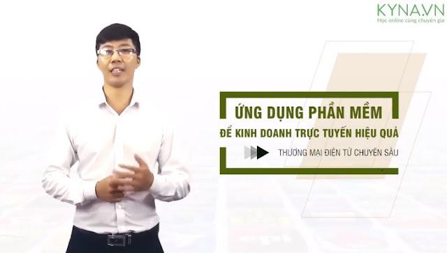 Khóa học ứng dụng phần mềm để kinh doanh trực tuyến hiệu quả