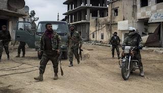 Ledakan Bom di Daraa Bunuh & Lukai Puluhan Tentara Rezim Syiah Nushairiyah