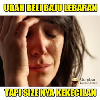 Gambar2 Lucu Meme Baju Lebaran Idul Fitri 2016 yang Gokil Abis