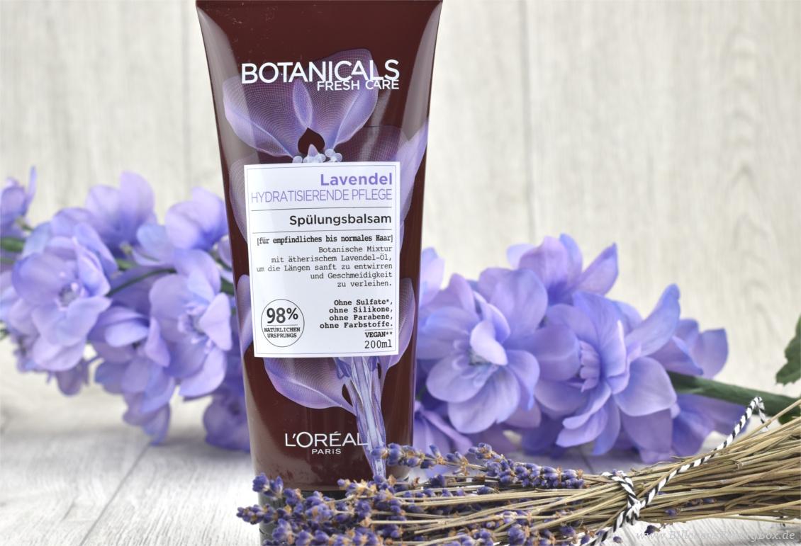 Review und Erfahrungsbericht zur L'Oréal Botanicals Lavendel Haarpflege Spülung
