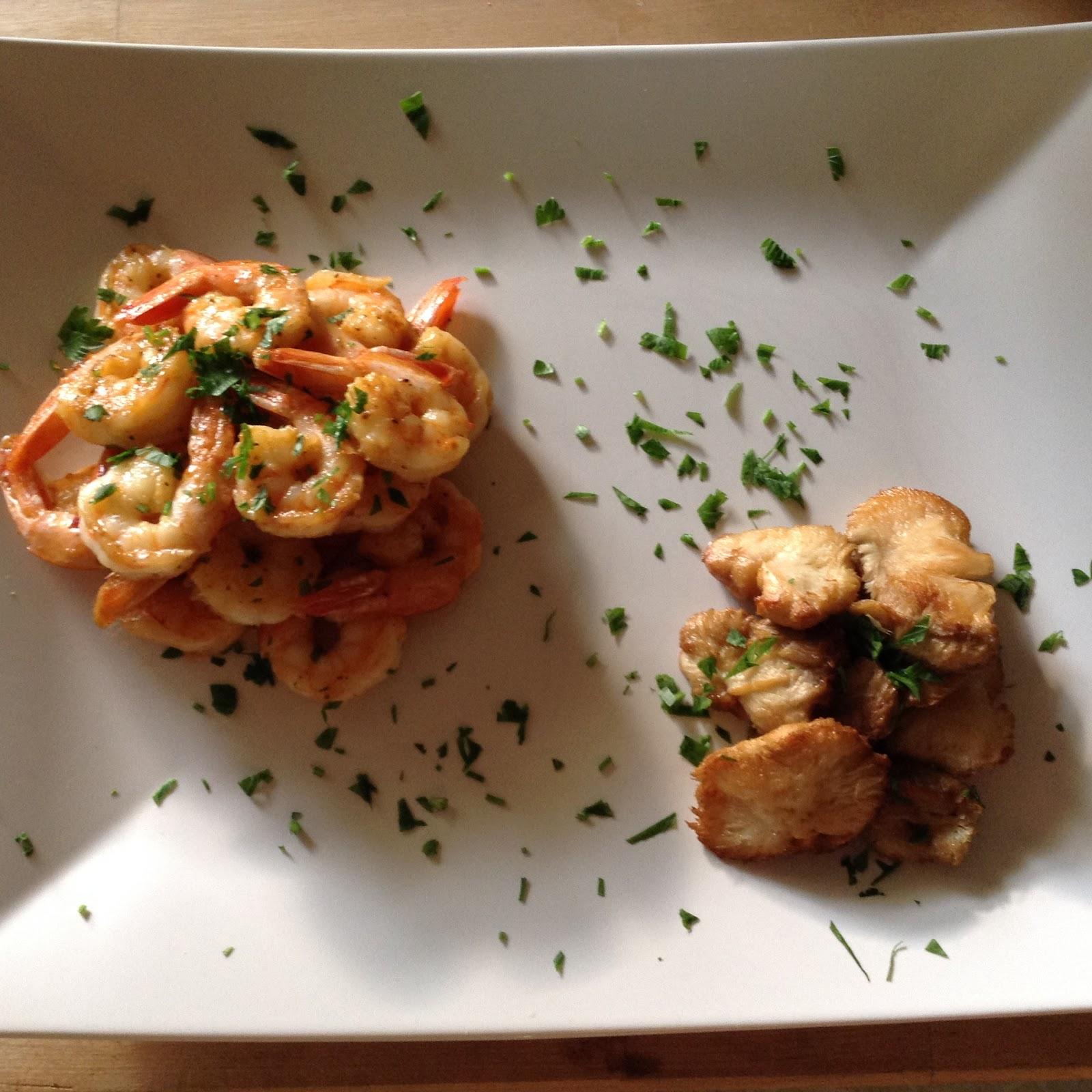 Little Kitchen Westport Ct: Our Little Green Kitchen: Lion's Mane And Shrimp Paired