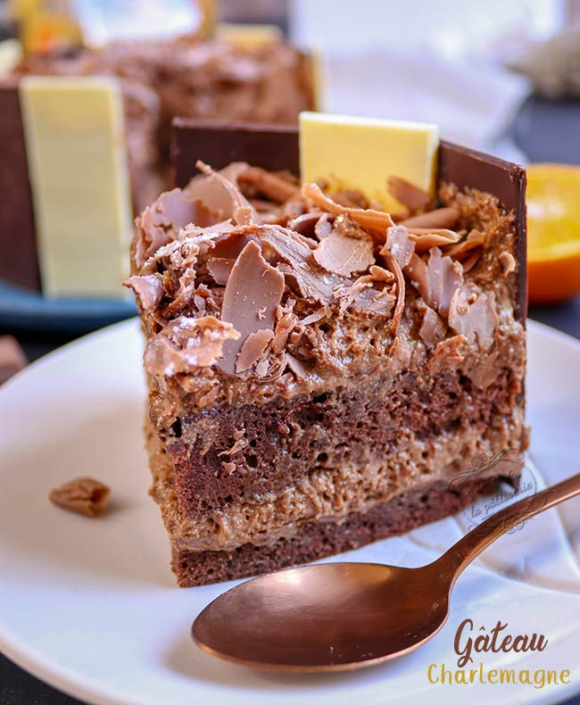 gateau charlemagne chocolat praline