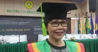 Ketua Umum PGRI Raih Gelar Guru Besar UNJ, Simak Pesan Beliau