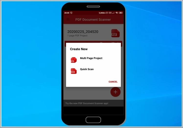 PDF Document Scaner : Σαρωτής εγγράφων PDF για Android