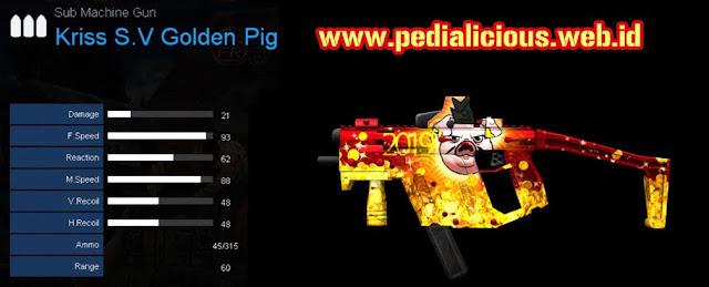 Detail Statistik Kriss S.V Golden Pig