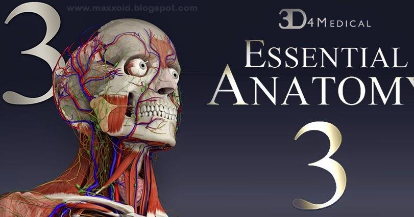 تحميل برنامج essential anatomy 3