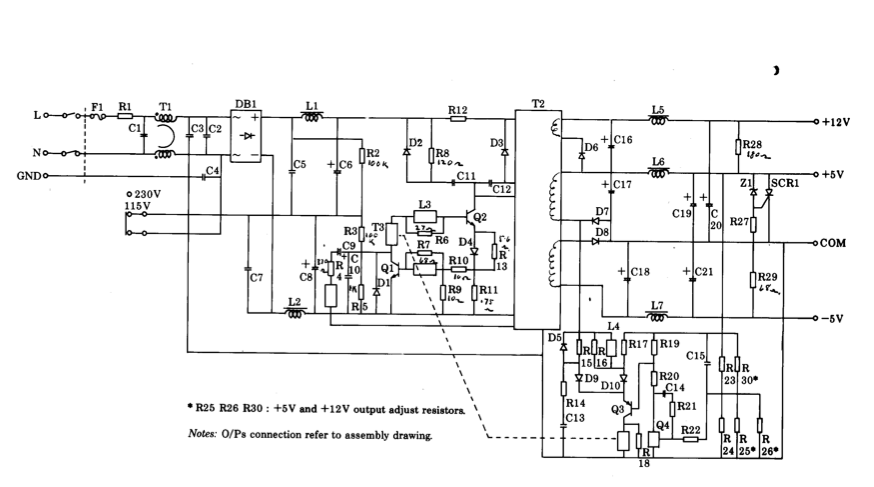 My BBC Micro Model B and a plume of acrid smoke | Bbc Model B Circuit Diagram |  | John Graham-Cumming