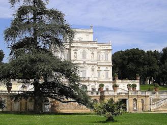 The Villa Pamphili in the Monteverde Vecchio district is part of the biggest public park in Rome