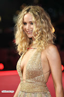 Jennifer Lawrence in a golde glittering gown at Red Sparrow Premiere in London ~  Exclusive Galleries 032.jpg