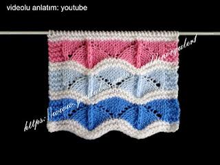 bebek battaniyesi örgü modelleri