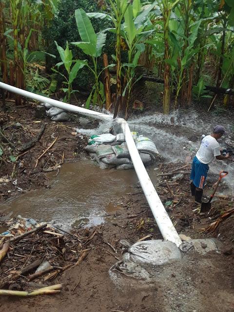 Lluvias han afectado el suministro de agua
