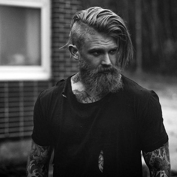 40 Best Undercut With Beard Haircut