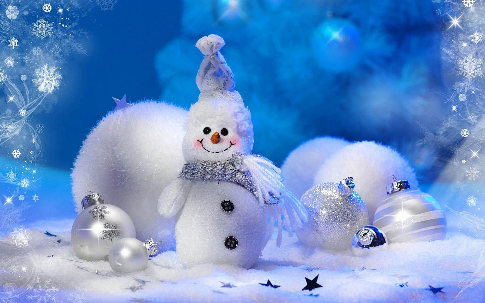 wallpapers: Snowman Wallpapers