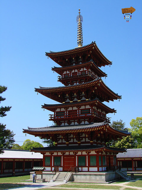 Templo Yakushi-ji - Nara - Japón