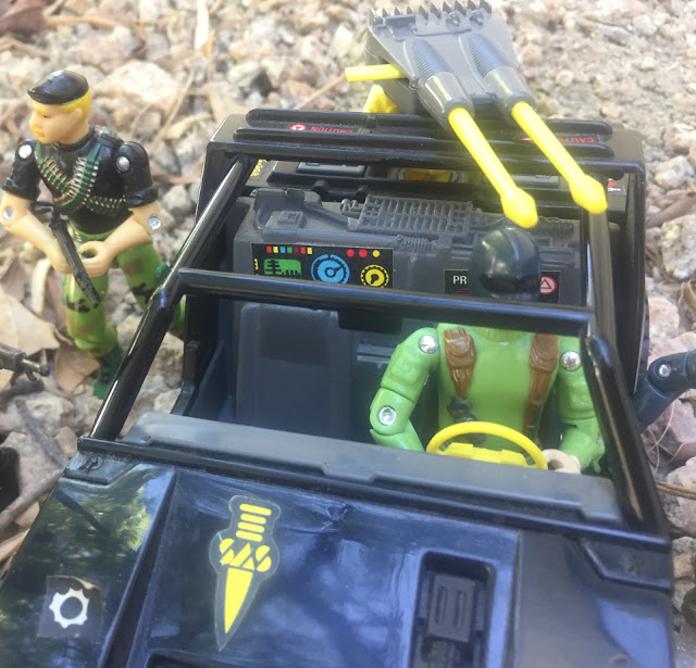 Action Force Panther Jeep, VAMP, SAS, Palitoy, 1983, Red Laser Army, Hollowpoint, Commando, Snake Eyes, Stalker