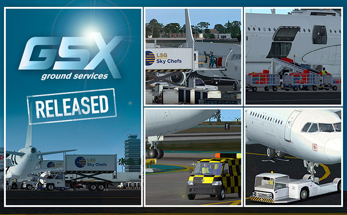 Download FSDreamTeam GSX - Ground Services New Version 1 9
