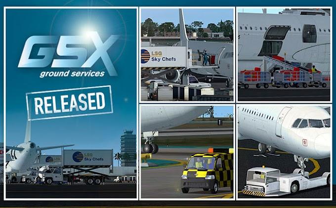 Download Ground Service X (GSX) v1 8 #FSX