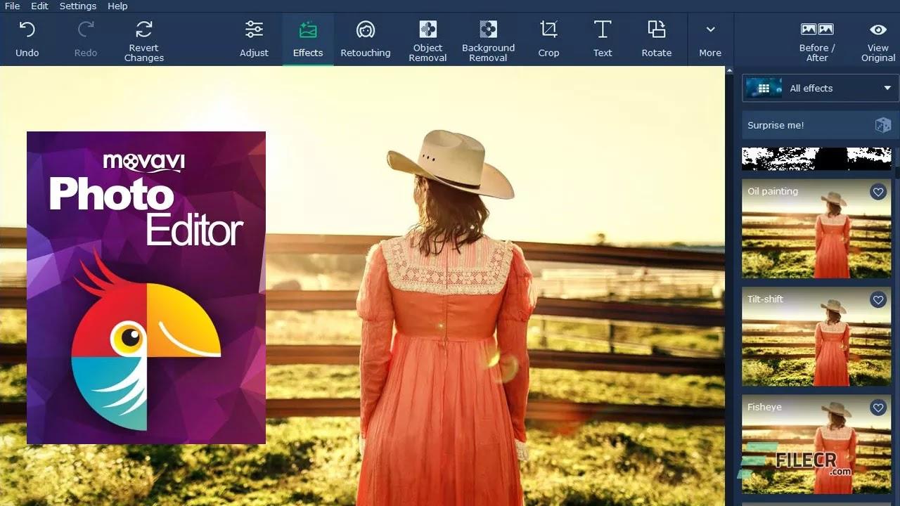 تحميل برنامج Movavi Photo Editor 6.5 لتحريروتحسين الصور