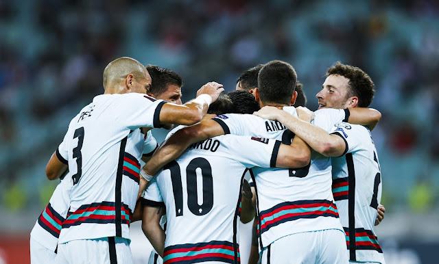 ملخص واهداف مباراة البرتغال واذربيجان (3-0) تصفيات كاس العالم