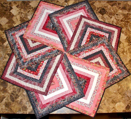 Strata Star Table Topper - Quilt Tutorial