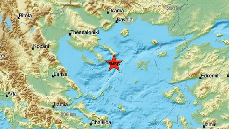 Ισχυρός σεισμός 5,2 Ρίχτερ στη θαλάσσια περιοχή του Αγίου Όρους