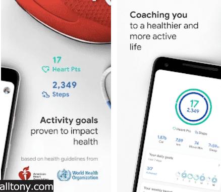 تحميل تطبيق اللياقة البدنية Google Fit للأيفون والأندرويد APK