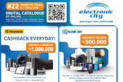 Katalog Promo Electronic City 22 - 28 Mei 2020