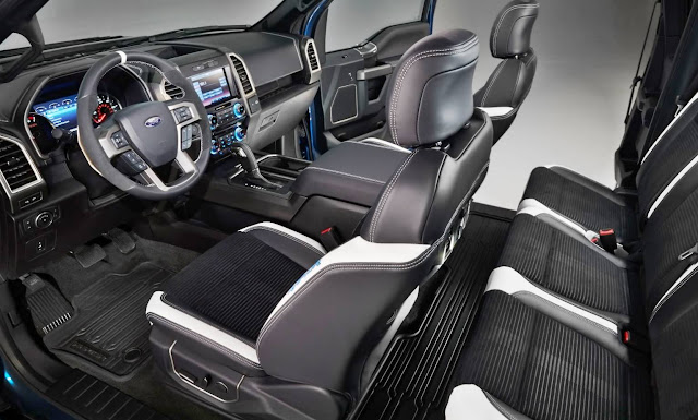 2017 Ford Raptor Interior