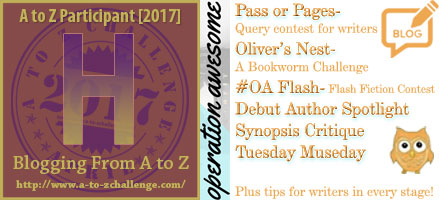 #AtoZchallenge 2017 Operation Awesome Healthy Minds and Healthy Writers