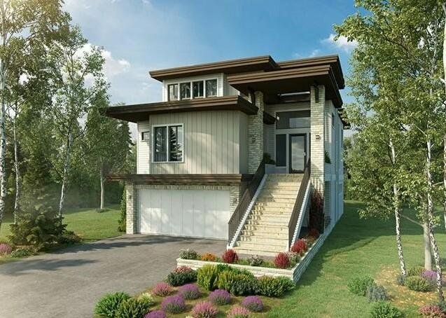 Simple House with Three Floors