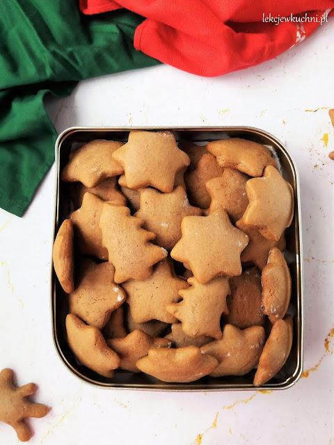 Miękkie pierniczki alpejskie / Soft Alpine Gingerbread Cookies