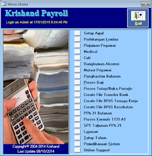 Krishand Software Payroll