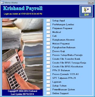 Krishand Software Payroll