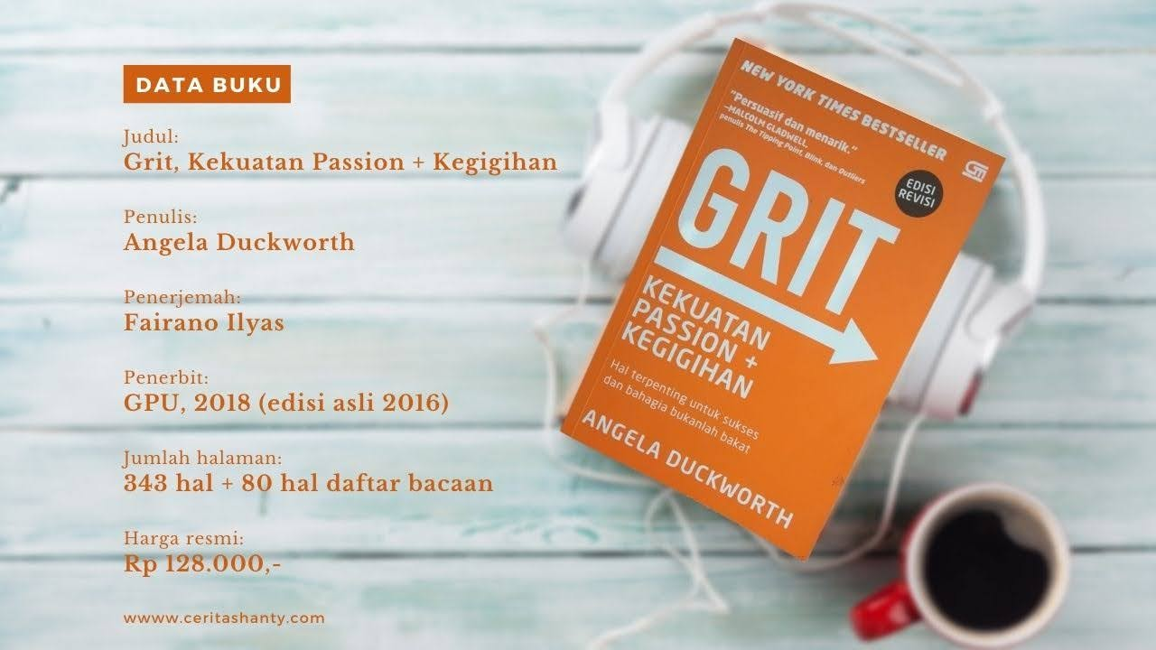 data buku grit angela duckworth