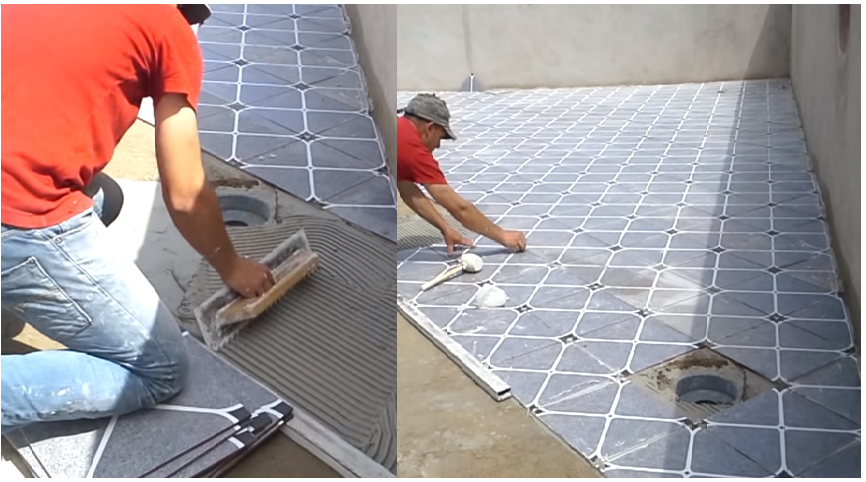 This Is A Handy Construction Video Can Be An Important For Each Lied Scientist Find Out How To Optimize Ceramic Tile Installation Procedure