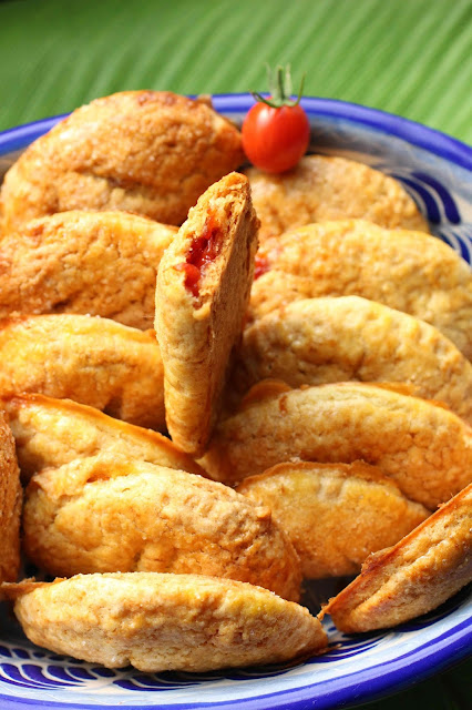 mini empanadas sucrees mexique