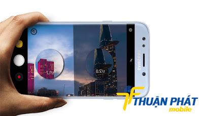 Hướng dẫn cách sửa Samsung J7 Pro bị lỗi camera