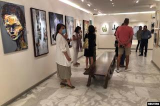 Sebuah Pameran Karya Seniman Arab Terkemuka Galang Dana untuk Rekonstruksi di Gaza Palestina