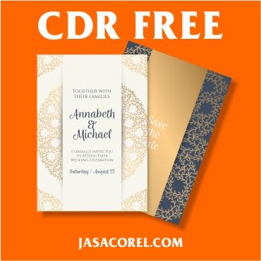 Undangan Pernikahan CDR 2019
