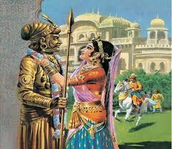 Prithviraj and Sanyogita's love story