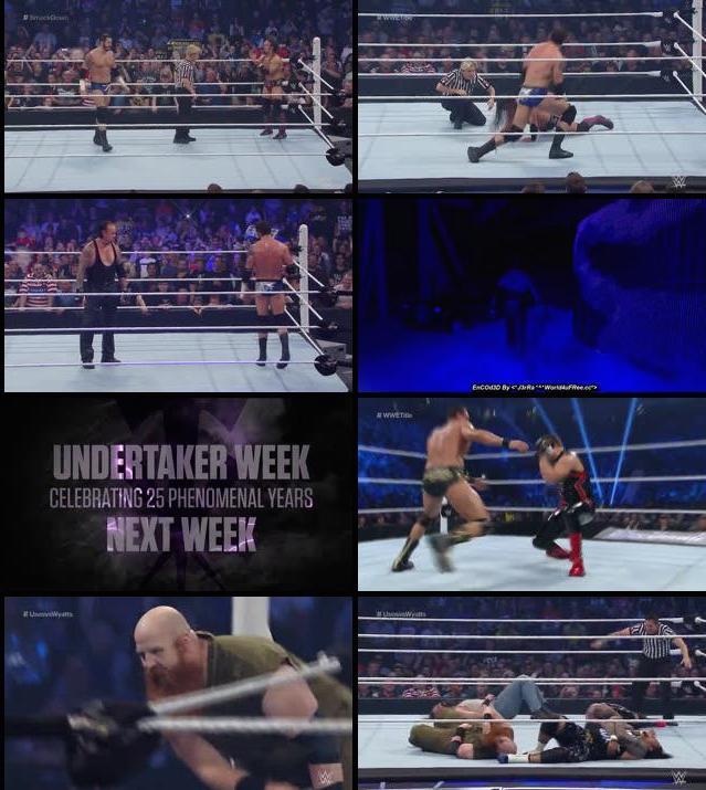 WWE Thursday Night Smackdown 12 Nov 2015 WEBRip 480p