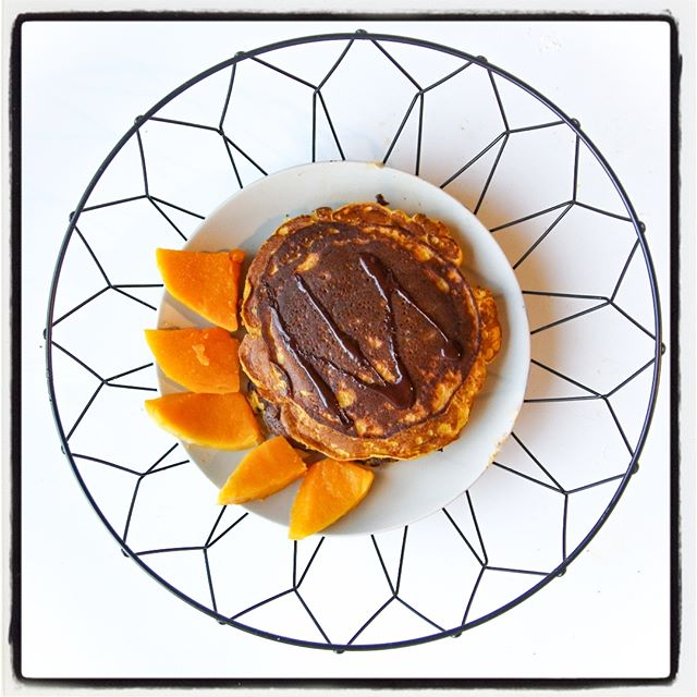 pancakes healthy sains courge butternut