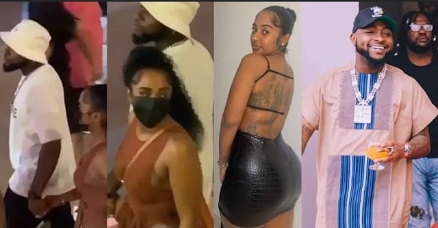 More details reveals Young Ma's ex-girlfriend, Mya Yafai visited Davido in Nigeria and Ghana (Video)