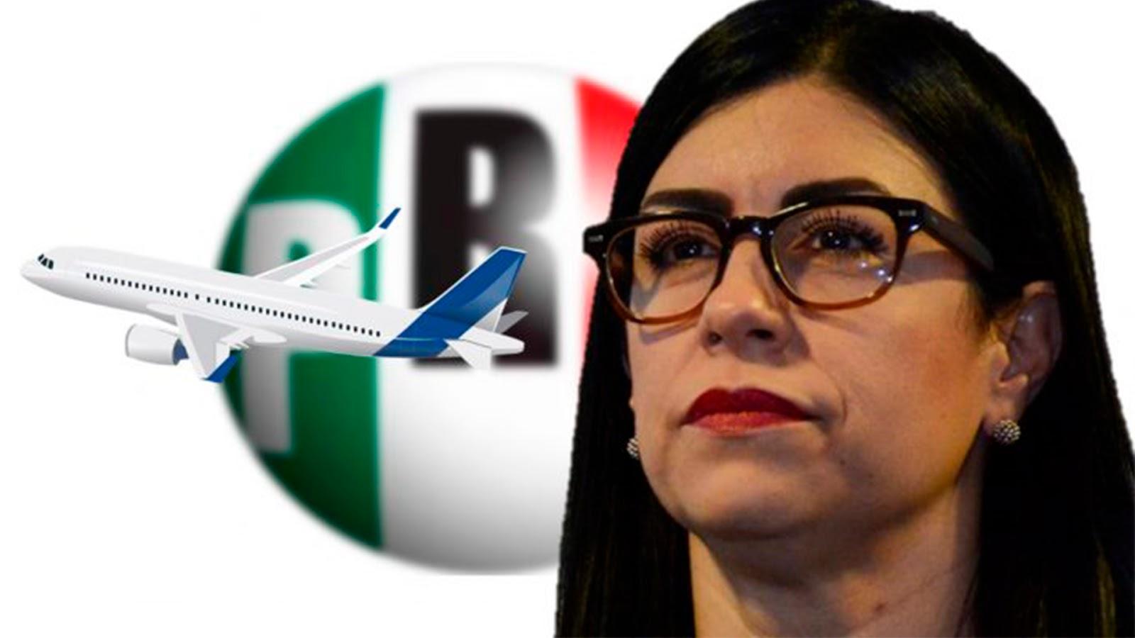 Vanessa Rubio, exfuncionaria de EPN; pide licencia y deja al PRI con 14 senadores