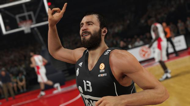 Euroleague Match NBA 2K15 Screenshot