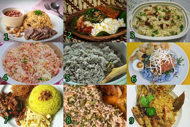 Gambar Koleksi Resepi Masakan Nasi