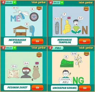 Jawaban tebak gambar level 143 nomor 13-16